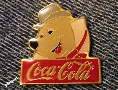 Disney Pin~Moley the Mole from Mr. Toad~WDW~1986~Coca Cola~Coke