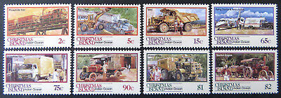 1990 Christmas Island Stamps - Transport Through the Ages - Pt II Set 8 MNH