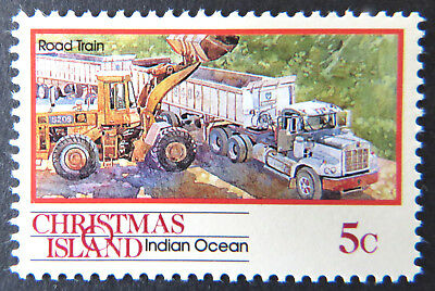 1990 Christmas Island Stamps - Transport Through the Ages  Pt II- Single 5c MNH