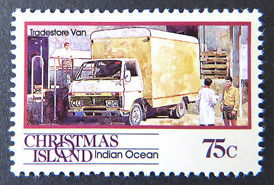 1990 Christmas Island Stamps - Transport Through the Ages Pt II - Single 75c MNH