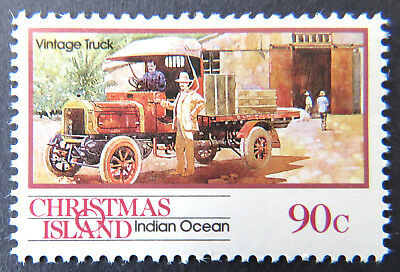 1990 Christmas Island Stamps - Transport Through the Ages Pt II - Single 90c MNH