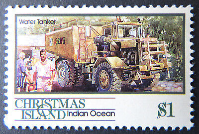 1990 Christmas Island Stamps - Transport Through the Ages Pt II - Single $1 MNH