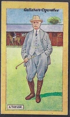 Gallaher-British Champions Of 1923-#15- Horse Racing - Alec Taylor