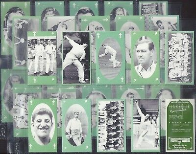 Harbour-Full Set- Cricket Surrey V Yorkshire (30 Cards) - Exc+++