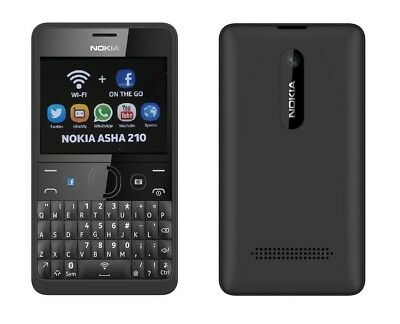 Nokia Asha 210 in Black Handy Dummy Attrappe - Requisit, Deko, Ausstellung