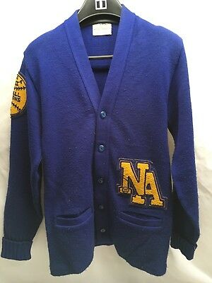 70's BRISTOL Softball Award letterman Varsity sweater. nwot up to 42 chest L
