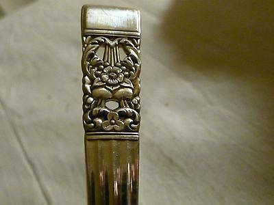 """LOT A vtg  COMMUNITY silverplated LARGE SERVING SPOON 8 1/2"""" L   coronation"""