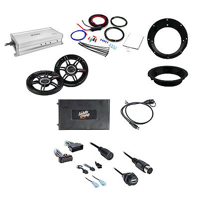 Metra Bluetooth Audio Interface W/Speakers, MountingRing, Amplifier & Power Kit