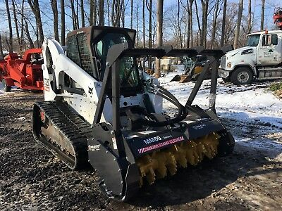 2008 Bobcat T320 with Bradco MM60 Forestry Mulcher