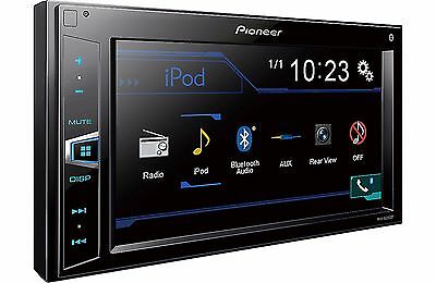 Pioneer MVH-AV209BT Double DIN Bluetooth In-Dash Digital Media Car Stereo NO CD