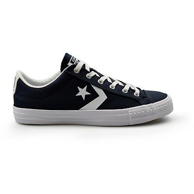 70c70ec45d6d Converse Star Player Classic Athletic Navy Canvas Mens Trainers New on Sale