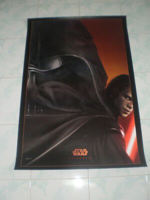 Star Wars Episode Iii Movie Poster Revenge Sith Original 27x40 Sided Ds Orig