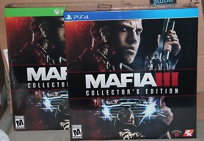 **NEW**  Mafia III: Collector's Edition (Microsoft Xbox One, Sony PlayStation 4)