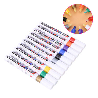 10 Colors Permanent Paint Marker Pens Set for DIY Art Painting Drawing Marker zz