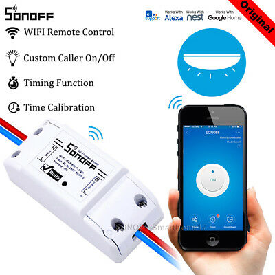 Sonoff ITEAD Smart Home WIFI Wireless Switch Modul für Apple Android APP Control
