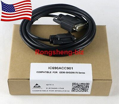 IC690ACC901 90 Mini Converter Kit Programming Cable RS-485/RS-232 for GE Fanuc