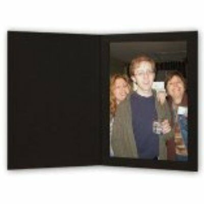 Cardboard Photo Professional Albums Folder 4x6 Pack 100 Black NO TAX FREE NEW