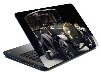 Vintage Car Laptop Skin Removable Decal Sticker Skin Protection 15-14'' Inch