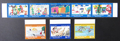 1991 Christmas Island Stamps - Christmas - Set of 8 MNH