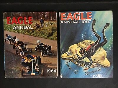 Eagle Annual Lot Of 2 From 1964, 1967