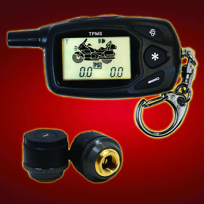 Show Chrome TireGard 2-Wheel Tire Pressure Monitoring System Universal