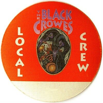 Black Crowes Authentic 1993 High as the Moon Tour satin cloth Backstage Pass