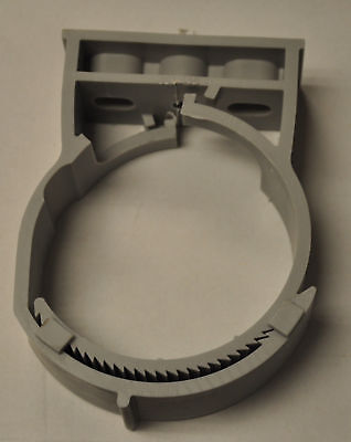 """qty 10  sns101-115HS PP, Grey Pipe Hanger for 4"""" pipe and conduit,"""