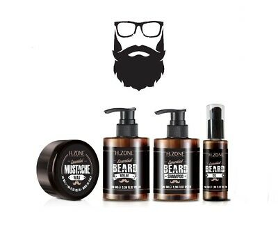 50Kit Barba e Baffi H-Zone Essential Beard - Renèe Blanche