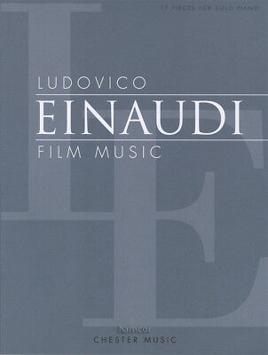 Ludovico Einaudi Film Music 17 Pieces for Solo Piano Sheet Music Book