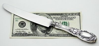 Signed Towle King Richard Sterling Silver Dinner Knife 9""