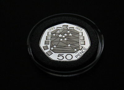 50 PENCE 1992 1993 European Presidency EEC 50p Fifty  Coin PROOF CHRISTMAS GIFT