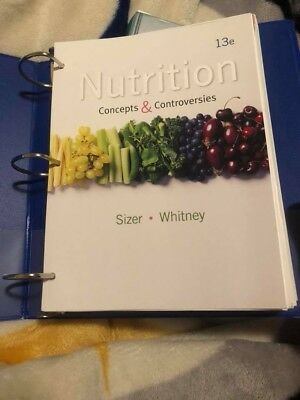 Nutrition Concepts And Controversies By Frances Sizer And Ellie