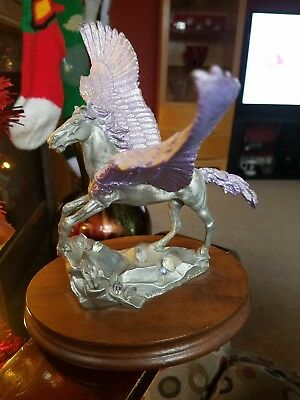 Peter C. Sedlow Pewter Limited Edition Winged Splendor Pegasus