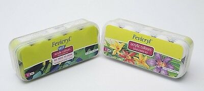 Set of Fevicryl Sunflower Kits 2 kits to Serve Both fabric & Non-fabric