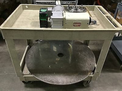 Sandex 11AD-02338R-SR3VW1 2 Position Rotary Indexer With Drive/Table, 230/460VAC