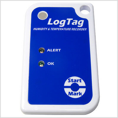 Logtag Temperature & Humidity Data Logger (Supplied with Aust Tax Invoice)