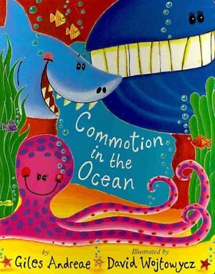 Commotion in the Ocean by Giles Andreae 9781589258631 (Board book, 2011)