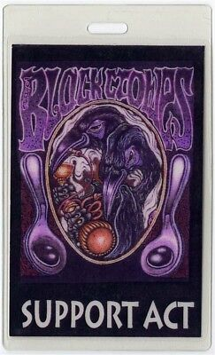 Black Crowes authentic 1993 Laminated Backstage Pass Living Horizontal Fall Tour