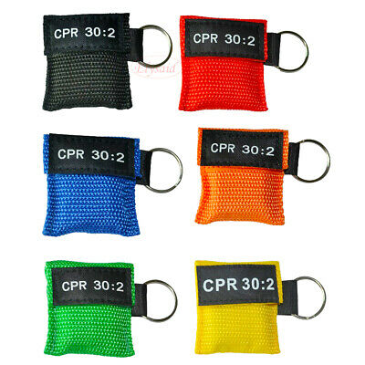 CPR Face Mask Keychain Face Shield CPR AED First Aid Training CPR 30:2