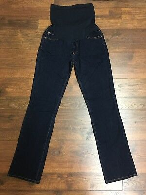 A Pea In The Pod AG Adriano Golfschmied 29R Dark Maternity Jeans