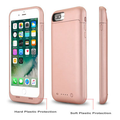 Battery External 4500 mAh Charging Power Bank Charger Case Cover For iPhone 7 8