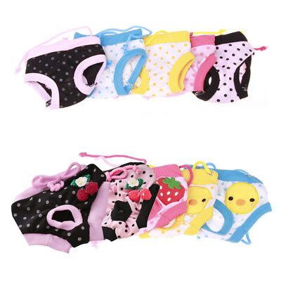 Pet Dog Female Puppy Sanitary Panty Short Pant Cute Stripe Dots Diaper Underwear