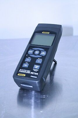 General PM930SD Pressure Data Logger