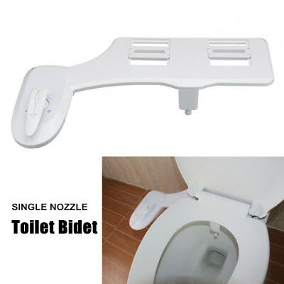 Bidet Toilet Seat Attachment Non-Electric Single Cold Hot Water Spray Cleaning