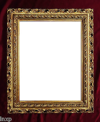 Wall Mirror 43x36 Mirror Baroque Rectangular Gold Picture Frame Arabesco 4