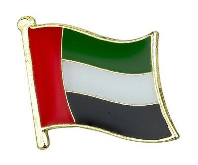 UNITED ARAB EMIRATES / UAE - Flag Lapel Pin Badge High Quality Gloss Enamel