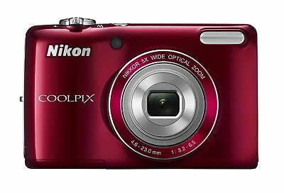 COOLPIX L26 16.1 MP Digital Camera w/ 5x Zoom NIKKOR Glass Lens and 3 In.... New