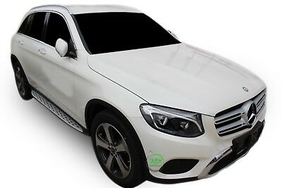 MERCEDES GLC X253 2015-up Running Boards Side Steps  OE AMG style