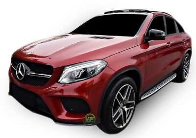 MERCEDES GLE COUPE C292 2015-up Running Boards Side Steps  OE AMG style