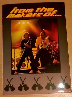 STATUS QUO Offical press kit FROM THE MAKERS OF : Photos + Poster VERY RARE